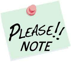 please-note-clipart-1 - Hill Elementary