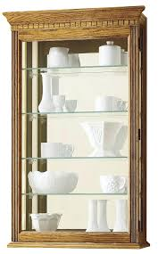 wall curio cabinet cabinets glass doors