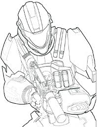 Halo Reach Coloring Pages Convert Pictures To Coloring Pages Photo