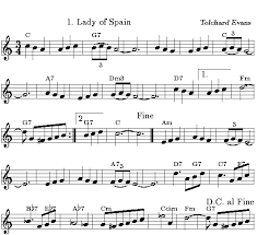 Spain Chord Chart Accordion Links Lady Of Spain