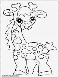 Baby Safari Coloring Pages Baby Jungle Animals Coloring Pages