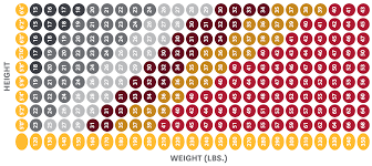 Bariatric Bmi Chart Am I Qualified Usc Bariatric Surgery Weight Loss