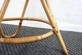 vintage round rattan coffee table 5 541 00 per piece
