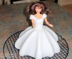 3d Cinderella Doll Cake Fit For A Princess Oh My Sugar High