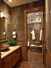 Rustic Bathroom Design Awesome Decorating