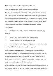 essay college same sex marriage essay topics same sex marriage essay ap bio essay college same sex marriage essay topics same sex marriage essay