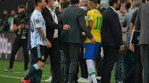 تصفيات مونديال 2022: توقف مباراة البرازيل والأرجنتين بسبب مخالفة بروتوكلات  كوفيد-19 - فرانس 24