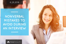 blog hiregrowth nonverbal mistakes to avoid during an interview