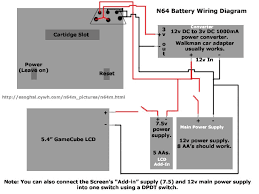 the league of portable crusaders vs the portables of doom battery diagram for n64 and screen
