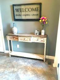 awesome hallway table ideas popular of decor with best regarding small decorations 13