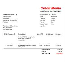 Credit Memo Letter Fascinating A Credit Memo Is A Document That Filename Port By Port