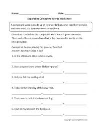 Englishlinx Com Compound Words Worksheets Making Worksheet 2 Page ...