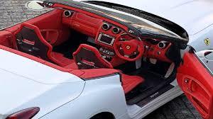 ferrari 458 white interior. ferrari california white red interior 458 e
