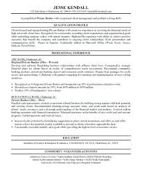 Personal Banker Resume Personal Banker Resume Objective Personal