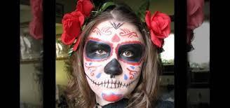 how to dress as a dia de los muertos sugar skull for ideas wonderhowto