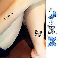 359 1 Pcs Dočasné Tetování Voděodolné Face Ruce Paže Pvc Tetovací Nálepky Waterproof