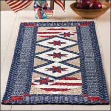 99 best FOURTH JULY QUILTS images on Pinterest | Craftsman artwork ... & Stars in My Heart Table Topper Pattern - Quilting Digest Adamdwight.com