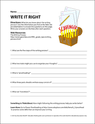write it right education world search form