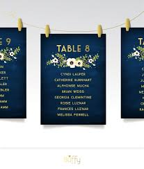 The Alyssa Seating Chart Cards Wedding Table Number Or