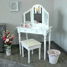 White Bedroom Dressing Table Small Vanity Table Small Bedroom Vanity ...