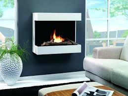 wall mounted gas fireplaces fireplace contemporary open hearth mount 34 electric by solaire modern