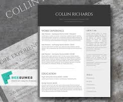 Free Modern Resume Templates For Word Resume Corner