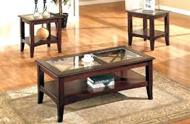 wood and glass end tables wood and glass coffee table sets end tables round furniture square