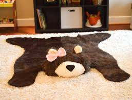 faux bear rug bear rug faux bear rug woodland nursery baby by faux bear skin rug