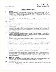 Sample Nonfiction Book Proposal Fresh 40 Super Nonfiction Book