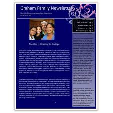 Newsletter In Word Making A Family Newsletter In Word Tips And Templates To Download