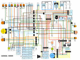 honda cb550 electrical wiring diagram jpg 1241×926 motorcycles wiring diagram honda cafe racer