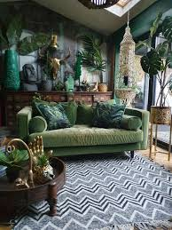 25 welcoming green living room decor