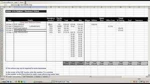 Business Tax Spreadsheet Templates Photography Small Expense
