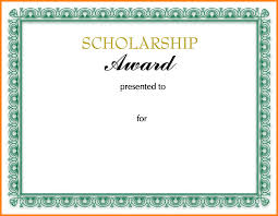scholarship templates scholarship certificate template professional and high quality