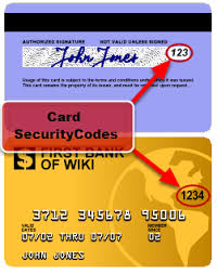 Credit To Security Code Get How Card For