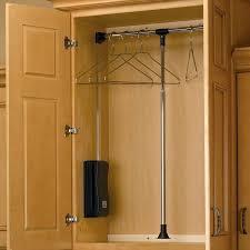 wood closet rod bracket rev a shelf