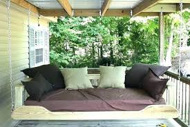 outdoor porch bed swing porch swing bed hanging porch bed hanging porch swing bed plans hanging
