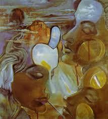 salvador dali mirror women mirror head