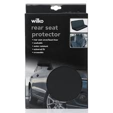 wilko rear car seat protector image