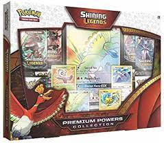 We're also happy to confirm. Amazon Com Pokemon Tcg Shining Legends Premium Powers Collection Toys Games
