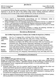 Sample Software Engineer Resume Sarahepps Com