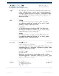 17 best ideas about simple resume examples on pinterest simple sample resume templates microsoft word