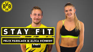 Stay fit - with Felix Passlack & Alica Schmidt   Episode 11 - YouTube