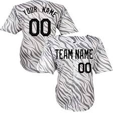 Jerseys Custom Women Pattern Embroidered Any amp; Zebra com Clothing Gray For Jersey S-8xl Numbers Baseball Men Amazon Name Youth -