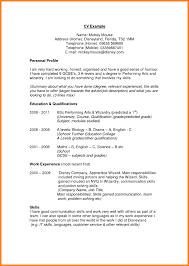 Example Of Profile In Resume Good Resume Example Awesome Example Of A Resume Profile Examples 14