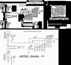 schematics varitone bypass circuits vintage guitars schematics varitone bypass circuits