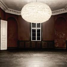 pendant lamp contemporary paper feather eos large by soren ravn christensen
