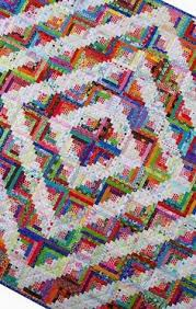 Antique Hand Stitched Log Cabin Style 19th C. Quilt 80 x80  | Log ... & Antique Hand Stitched Log Cabin Style 19th C. Quilt 80