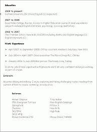 Resume Language Skills Simple Resume Template