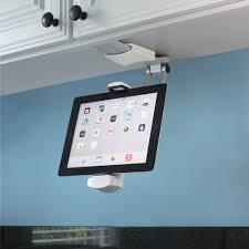 The Under-Cabinet iPad Dock.